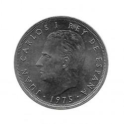 Münze Spanien 25 Peseten Jahr 1975 Stern 78 König Juan Carlos I Unzirkuliert