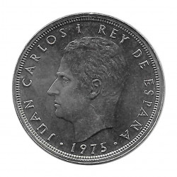 Coin Spain 50 Pesetas Year 1975 Star 78 King Juan Carlos I Uncirculated