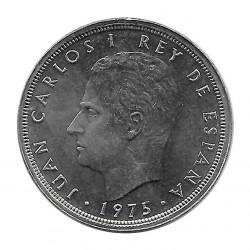 Münze Spanien 50 Peseten Jahr 1975 Stern 78 König Juan Carlos I Unzirkuliert
