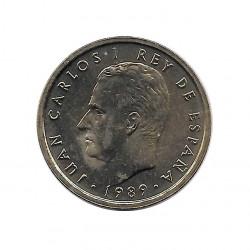 Moneda España 100 Pesetas Año 1989 Rey Juan Carlos I Sin Circular