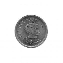 Coin Spain 10 Pesetas Year 1994 Pablo Sarasate Uncirculated