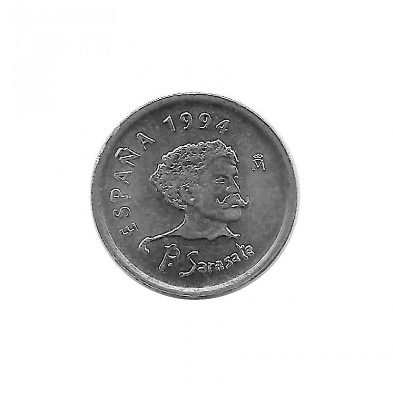 Münze Spanien 10 Peseten Jahr 1994 Pablo Sarasate Unzirkuliert