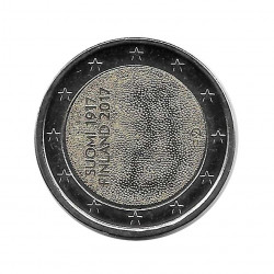 Coin Finland 2 Euro Year 2017 100 Years of Independence Uncirculated