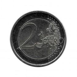 Moneda Finlandia 2 Euros Año 2017  100 Años de Independencia Sin Circular