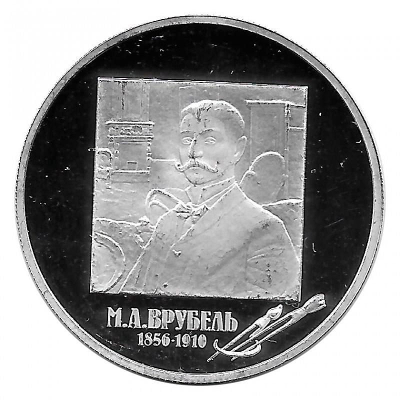Münze Russland 2006 2 Rubel Maler Vrubel Silber Proof PP