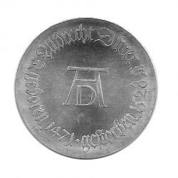 Moneda 10 Marcos Alemania Democrática DDR Alberto Durero Año 1971