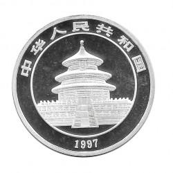 Coin China 10 Yuan Year 1997 Silver Panda Proof