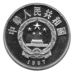 Silver Coin 5 Yuan China Li Chun Year 1987 | Numismatics Store - Alotcoins