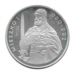 Münze 200 Złote Polen Mieszko I Probe 1979