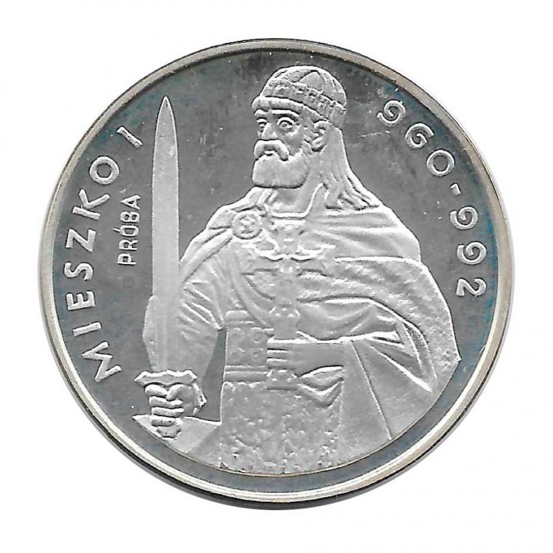 Moneda 200 Zlotys Polonia Miecislao I PRUEBA 1979
