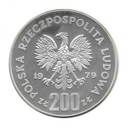 Coin 200 Złotych Poland Mieszko I Proba 1979