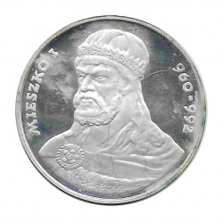Moneda 200 Zlotys Polonia Miecislao I 1979