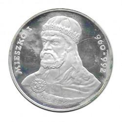 Münze 200 Złote Polen Mieszko I Jahr 1979