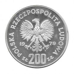Coin 200 Złotych Poland Mieszko I Year 1979