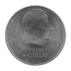 Moneda 20 Marcos DDR Friedrich Schiller 1972 - Alotcoins