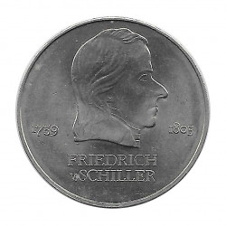 Münze 20 Mark DDR Friedrich Schiller 1972 - Alotcoins