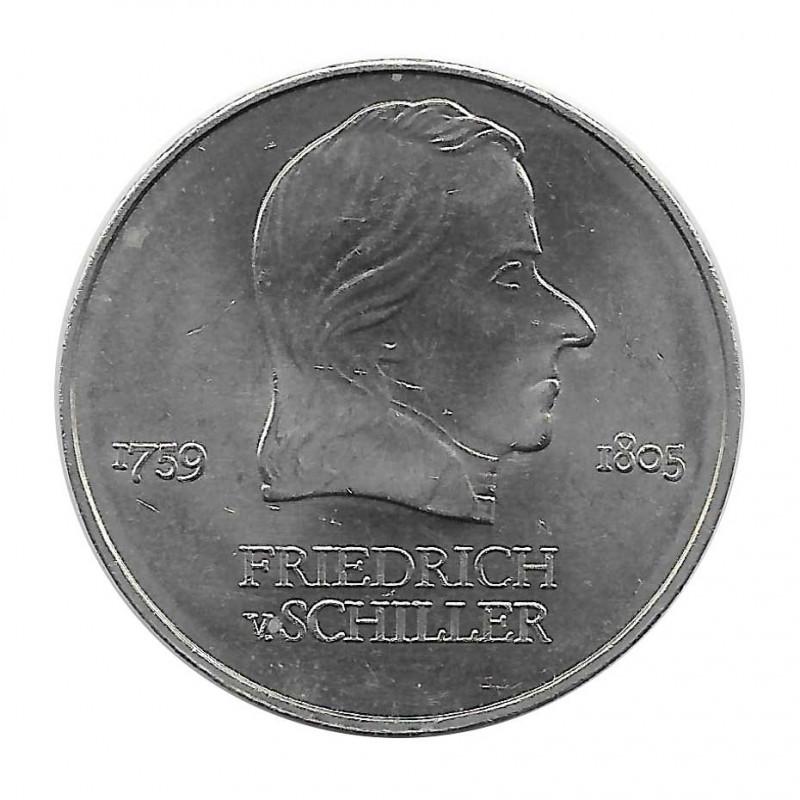 Münze 20 Mark DDR Friedrich Schiller 1972 - Alotcoins