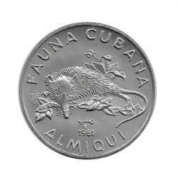 Münze Kuba 1 Peso Almiqui...