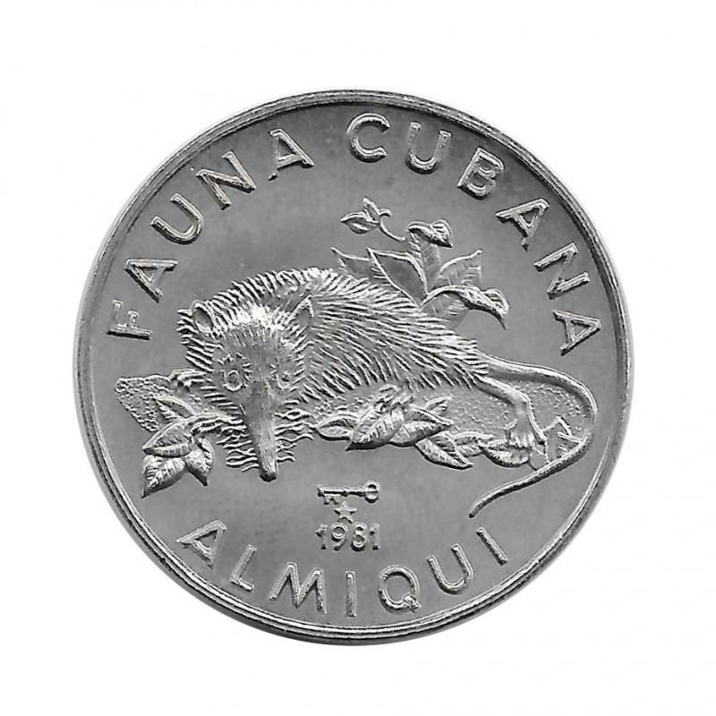 Coin 1 Peso Cuba Almiqui 1981 | Numismatics Online Store ALOTCOINS