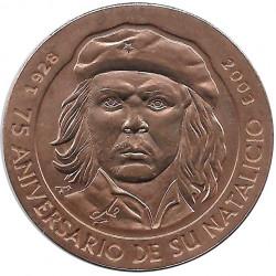 Münze 1 Peso Kuba Che Guevara 75 Geburtstag Jahrestag