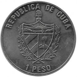 Münze 1 Peso Kuba Mao Tse Tung China 2002