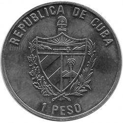 Moneda 1 Peso Cuba Federico Engels 2002
