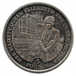 Coin 5 Pounds Gibraltar The Queen Mother Year 1995 - ALOTCOINS
