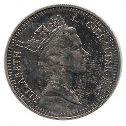 Münze 5 Pfund Gibraltar Amor Vincit Omnia 1997
