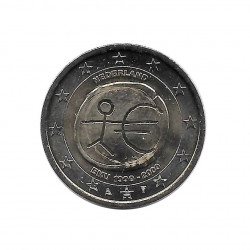 Commemorative Coin 2 Euros Netherlands EMU 2009 | Numismatics Online Alotcoins