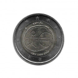 Commemorative Coin 2 Euros Spain EMU Year 2009 | Numismatics Online - Alotcoins