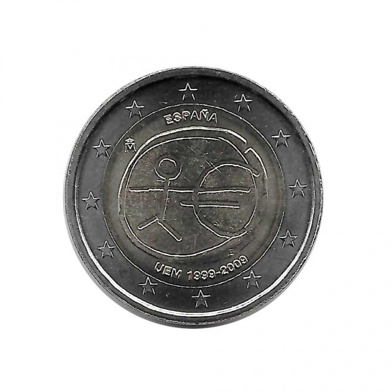 Moneda 2 Euros Conmemorativa España EMU Año 2009 | Numismática Online - Alotcoins