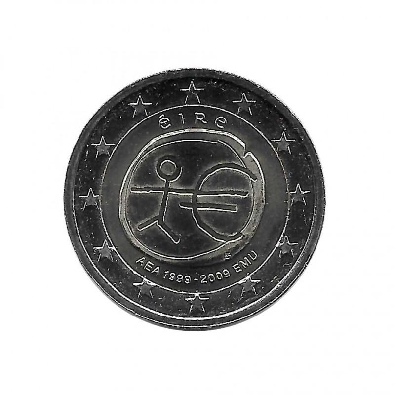 Gedenkmünze 2 Euro Irland EMU Jahr 2009 | Numismatik Online - Alotcoins