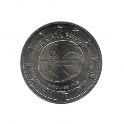 Gedenkmünze 2 Euro Österreich EMU Jahr 2009   Numismatik Online - Alotcoins