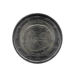 Gedenkmünze 2 Euro Portugal EMU Jahr 2009 | Numismatik Online - Alotcoins