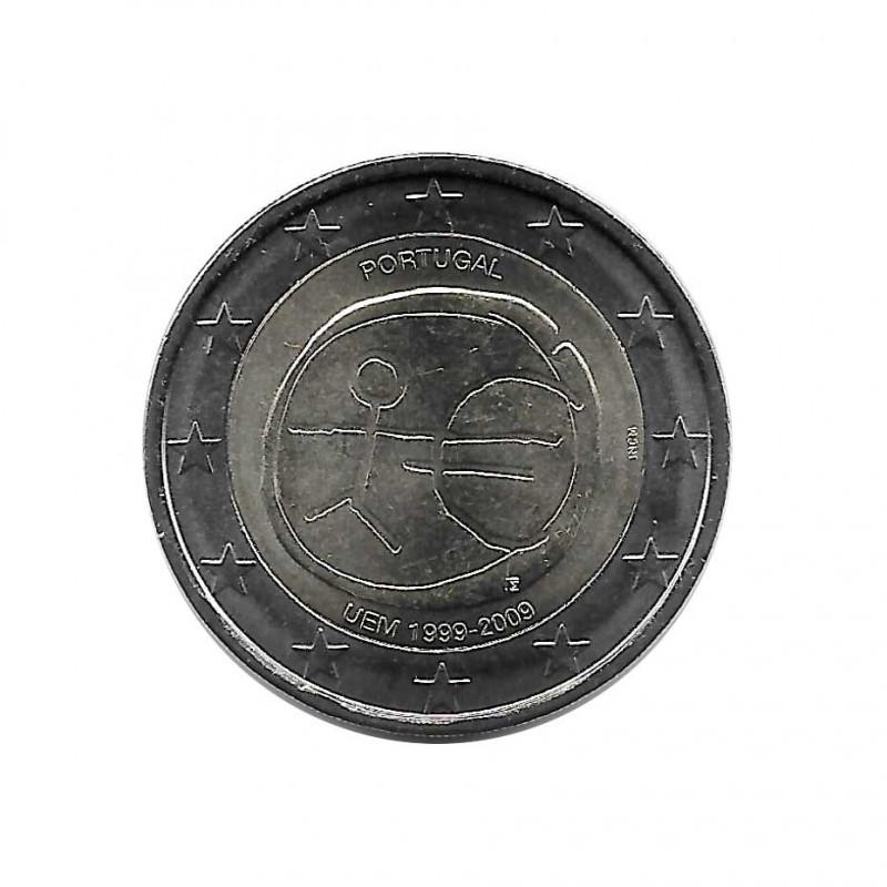 Moneda 2 Euros Conmemorativa Portugal EMU Año 2009 | Numismática Online - Alotcoins