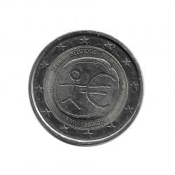 Moneda 2 Euros Conmemorativa Bélgica EMU Año 2009 | Numismática Online - Alotcoins
