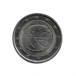Gedenkmünze 2 Euro Belgien EMU Jahr 2009 | Numismatik Online - Alotcoins