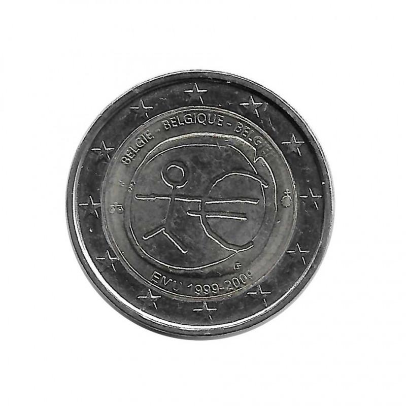 Commemorative Coin 2 Euros Belgium EMU Year 2009 | Numismatics Online - Alotcoins