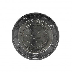 Commemorative Coin 2 Euros Slovakia EMU Year 2009 | Numismatics Online - Alotcoins