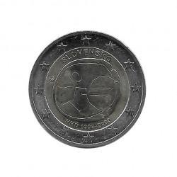 Gedenkmünze 2 Euro Slowakei EMU Jahr 2009   Numismatik Online - Alotcoins