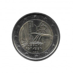 Commemorative 2 Euros Coin Italy Louis Braille Year 2009 - Numismatics Online Alotcoins