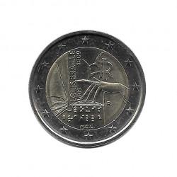Moneda 2 Euros Conmemorativa Italia Louis Braille Año 2009 - Numismática Española Alotcoins