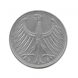Moneda 5 Marcos Alemanes DDR Águila D Año 1959 | Numismática Online - Alotcoins