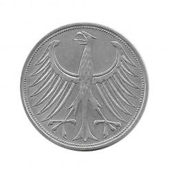 Münze 5 Deutsche Mark DDR Adler D Jahr 1959 | Numismatik Online - Alotcoins