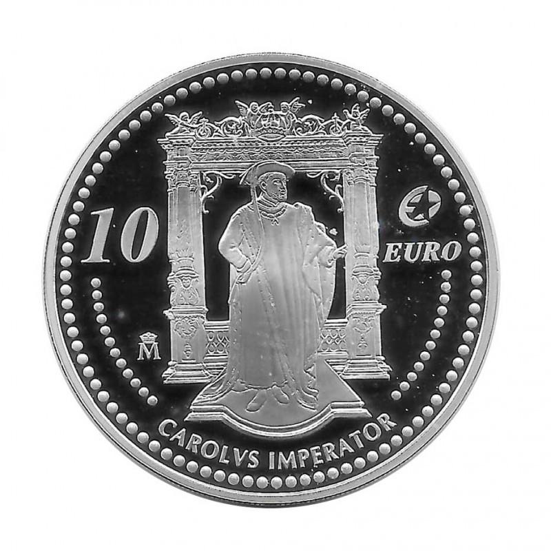 Münze 10 Euro Spanien Carolvs Imperator Jahr 2006 | Numismatik Online - Alotcoins