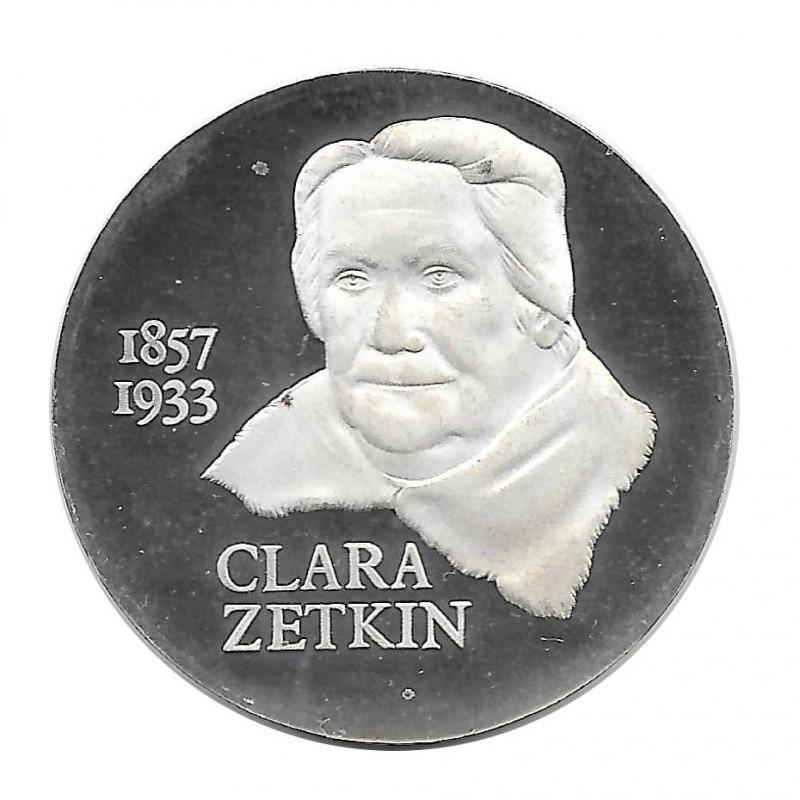 Coin 20 German Marks GDR Clara Zetkin Year 1982 | Numismatics Online - Alotcoins