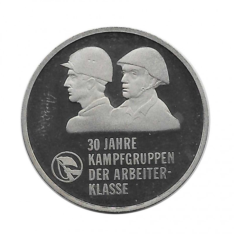 Coin 10 German Marks GDR Combat Groups Year 1983 | Numismatics Online - Alotcoins