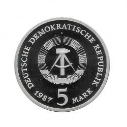 Münze 5 Deutsche Mark DDR Rotes Rathaus Berlin Jahr 1987   Numismatik Online - Alotcoins