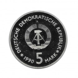 Coin 5 German Marks GDR Armory Museum Year 1990 | Numismatics Online - Alotcoins