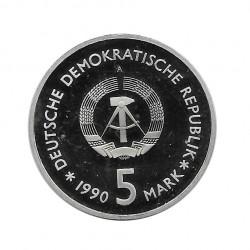 Moneda 5 Marcos Alemanes Museo Armería DDR Año 1990 | Numismática Online - Alotcoins